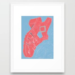 Sandal, 2013. Framed Art Print