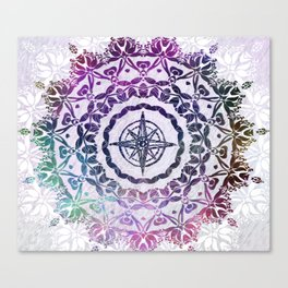 Destination Mandala Canvas Print