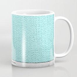 La verdadera alegría es que tú existes Coffee Mug