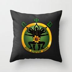 OPB Soul Steppin' Divas Logo Throw Pillow