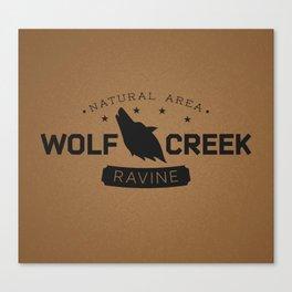 Wolf Creek Ravine Natural Area Canvas Print