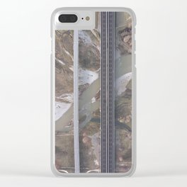uomo e natura Clear iPhone Case