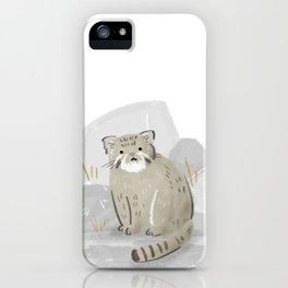 Pallas's Cat iPhone Case