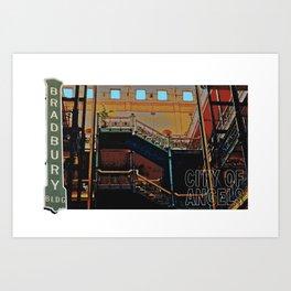 Bradbury Building Art Print
