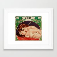 erotic Framed Art Prints featuring Erotic vampires by calibos