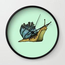 Snail City Wall Clock
