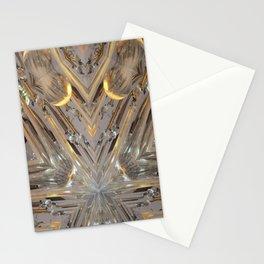 Glass Star Stationery Cards