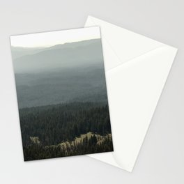 Oregon Mountain Forest Stationery Cards