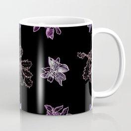 Quercus (black, purple) Coffee Mug