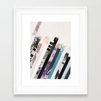 stripes Framed Art Prints featuring STRIPES  by Brandon Neher