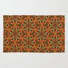 Colorful Gummies Kaleidoscope Rug
