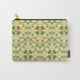 Abstract flower 8k Carry-All Pouch