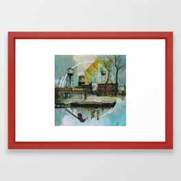 Motor City Odds and Ends Framed Art Print