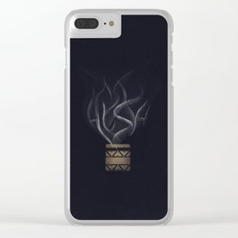 Hush - Buffy - Variant Clear iPhone Case