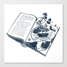 A Vivid Imagination Canvas Print