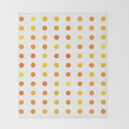 Dalmatian - Sunshine #906 Throw Blanket