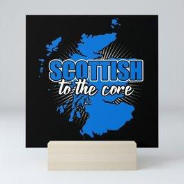 Scottish To The Core Mini Art Print