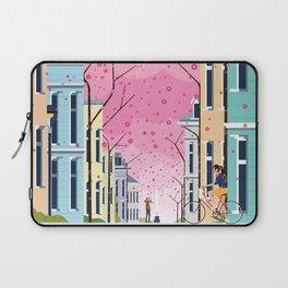 Aldstadt, Bonn ft. Cherry Blossom Laptop Sleeve