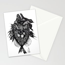 Fish Illustration Stationery Cards