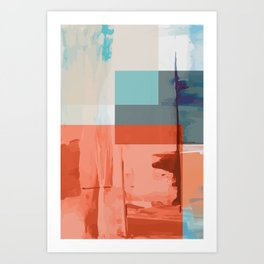 Root Abstract #abstract Art Print