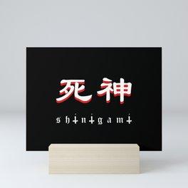 Shinigami Japanese Mini Art Print