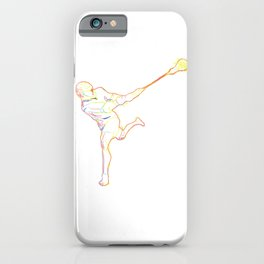 Lacrosse  Strokes gift for Lacrosse Player iPhone Case