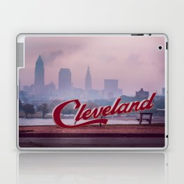 Homesick - Cleveland Skyline Laptop & iPad Skin