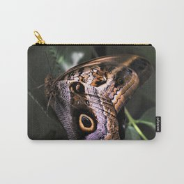 Sunbathing Giant Owl Butterfly Carry-All Pouch