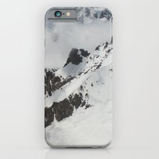 Clouds Shrouding Mont Blanc iPhone 6s Slim Case