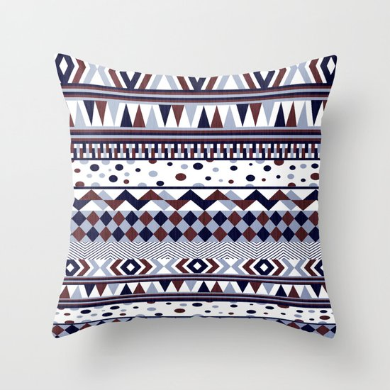Tribal Vibe Throw Pillow