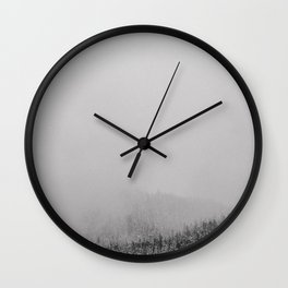 Low Snow Wall Clock