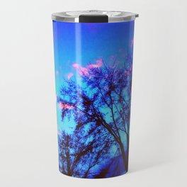 Colorful Sky (vintage) Travel Mug