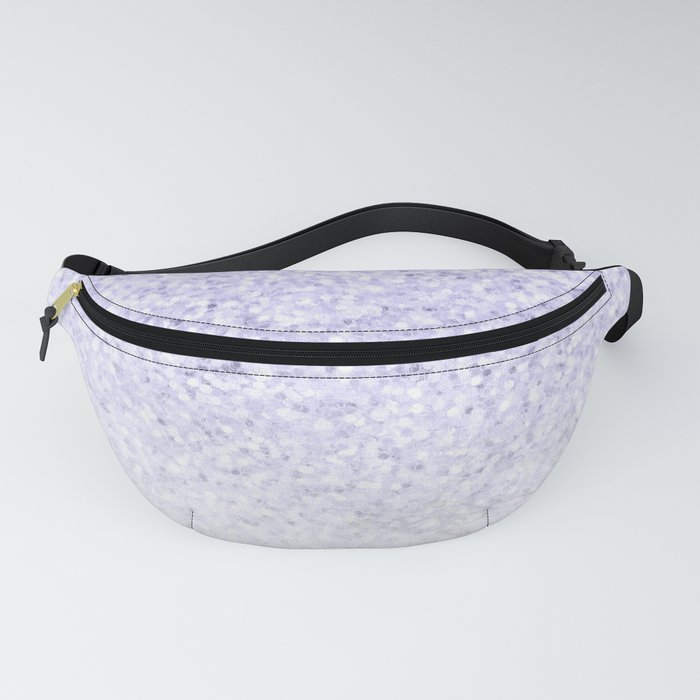 Violet Glitter and Marble Fanny Pack