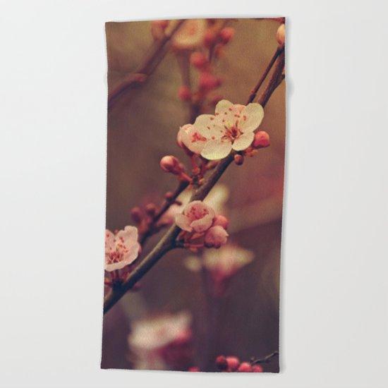 Beauty of Cherry Blossom Beach Towel