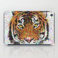 tiger iPad Cases featuring Tiger by David Zydd