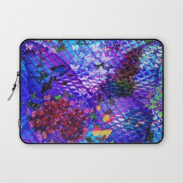 """Mother of Butterflies"" by surrealpete Laptop Sleeve"