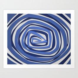 Vortex Spiral Art Print