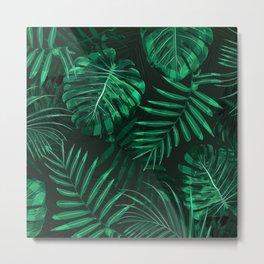 Jungle Background Design Metal Print