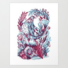 Built Art Print