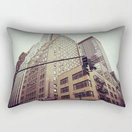 New Years Eve in New York City Rectangular Pillow