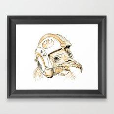 Star Wars Vulture Framed Art Print