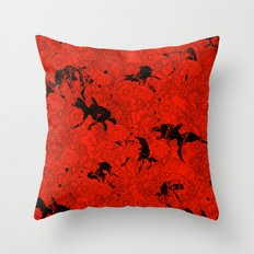 Hide and Seek  Throw Pillow