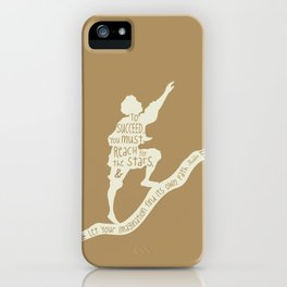 To Succeed you Must Reach for the Stars and Let you Imagination find its own Path - Aladdin iPhone Case