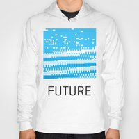 future Hoodies featuring Future by Blank & Vøid