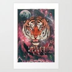MYSTIC//TIGER Art Print