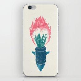 Brush Bomb iPhone Skin