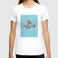 koi fish T-shirts featuring Koi Fish by Daydreamer