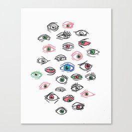 See All Evil Canvas Print