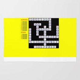 Crossword Rug