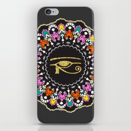 Eye of Horus Mandala iPhone Skin